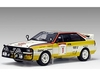 Audi Quattro LWB (Hannu Mikkola - Safari Rally 1984) Diecast Model Car