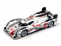 Audi R18 e-tron Quattro (Le Mans Winner 2013) Resin Model Car
