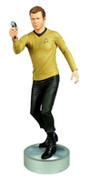 Collectibles & Rare Objects  - Captain James T Kirk Polystone Statue