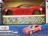 Vehicles  - Chevrolet Camaro SS RS Diecast Model Car Kit