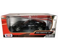 Vehicles  - Chevrolet Corvette C6 Coupe (2005) Diecast Model Car