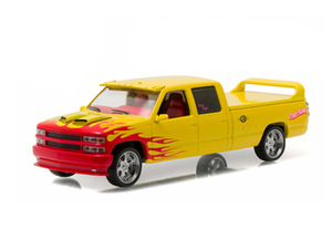 Chevrolet Silverado SS Csutom crew Cab (`Pussy Wagon` 1997) Diecast Model Van from Kill Bill Volume 1