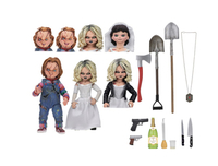 Puppets, Dolls & Figures  - Chucky and Tiffany Ultimate 2-Pack Figure Set from Bride Of Chucky