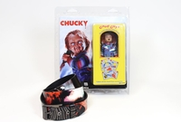 Puppets, Dolls & Figures  - Chucky Figure plus Lowlife Graveyard Shift Belt (by NECA 14965B)