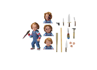 Collectibles & Rare Objects  - Chucky Ultimate Edition Poseable Figure (by NECA 42112)