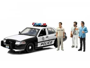 Ford Crown Victoria Police Interceptor Diecast Model Car from The Hangover