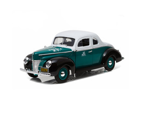 Ford Deluxe Coupe (New York City Police 1940) Diecast Model Car