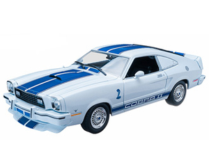 Ford Mustang II Cobra (1978) Diecast Model Car from Charlie`s Angels Original TV Series