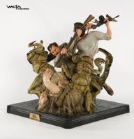 Collectibles & Rare Objects  - Jack And Denhams Ravine Struggle Statue