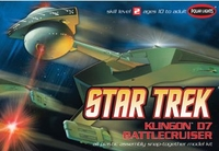 Collectibles & Rare Objects  - Klingon D7 Battlecruiser Snap Together Kit