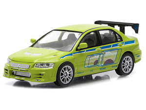 Mitsubishi Lancer EVO VII (2002) Diecast Model Car from Fast And Furious 2 Fast 2 Furious