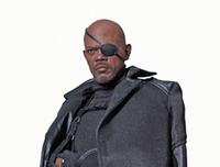 Puppets, Dolls & Figures  - Nick Fury Director Of SHIELD Figure from Captain America The Winter Soldier