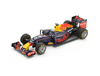 Red Bull Renault RB12 Tag Heuer (Daniel Ricciardo - Winner Malaysian GP 2016) Resin Model Car