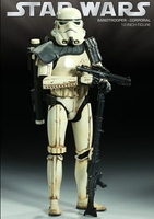 Collectibles & Rare Objects  - Sand Trooper - Corporal (Sideshow Exclusive) Figure