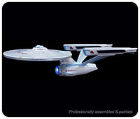 Collectibles & Rare Objects  - USS Enterprise NCC-1701-A Plastic Model Kit