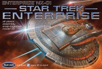 Collectibles & Rare Objects  - USS Enterprise NX-01 Snap Together Kit
