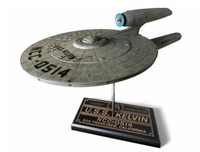 Puppets, Dolls & Figures  - USS Kelvin Plastic Model Kit from Star Trek