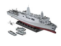 Model-making  - USS New York Amphibious Transport Dock Plastic Model Kit