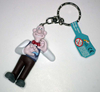 Wallace with Bow Tie Keychain from Wallace and Gromit The Curse Of The Were Rabbit