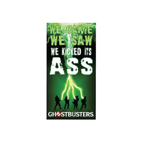 Puppets, Dolls & Figures  - We Kicked It`s Ass Beach Towel from Ghostbusters