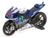 Vehicles  - Yamaha YZR-M1 Monster Tec3 (Jorge Lorenzo - Moto GP 2014) Diecast Model Motorcycle