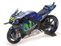 Vehicles  - Yamaha YZR-M1 Moviestar (Valentino Rossi - Moto GP 2016) Diecast Model Motorcycle