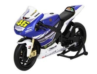 Vehicles  - Yamaha YZR-M1 Number 46 (Valentino Rossi - Moto GP 2013) Plastic Model Motorcycle