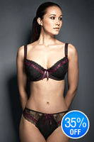 Underwear for Her  - Fauve Mia Padded Bra Black