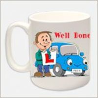 Personalised Gifts  - Congratulations on Passing Your Driving Test Mug