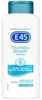Body Creams & Lotions  - E45 Touchably Smooth Body Lotion Lightly Fragranced 400ml