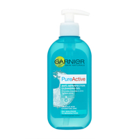 Creams & Lotions  - Garnier Skin Naturals Pure Active Deep Clean Foam Wash 200ml