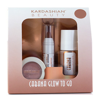 Sets  - Kardashian Beauty Cabana Glow Glow To Go - Mini Summer Kit