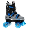 Skating Accessories New Phoenix Blue/Silver Kids Quad Roller Skates