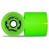 Skateboards|Skating Accessories Reflex Centrax 77mm/80A Longboard Wheels - Lime