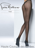 Tights  - Pierre Mantoux Tulle Backseam Tights