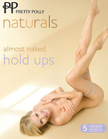 Stockings  - Pretty Polly Natural Almost Naked Hold Ups