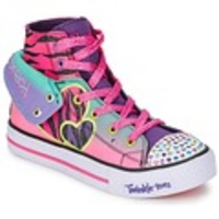 Low Shoes  - Skechers  WILD LIGHTS  girls