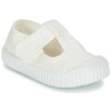 Sandals Victoria  SANDALIA LONA TINTADA  girls's Shoes (Pumps / Ballerinas) in White