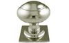 Centre Door Knob 73 mm - Satin Nickel Plate