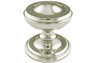 Centre Door Knob 76 mm - Polished Brass Lacquered
