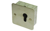 Key Switch 1 Gang Momentary - Satin Stainless Steel