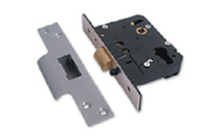 Security Locks & Padlocks  - Nightlatch Dual Profile - Polished Brass Lacquered