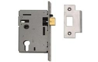 Security Locks & Padlocks  - Nightlatch Euro Profile - Polished Brass Lacquered