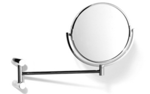 Pivotal Mirror - Satin Stainless Finish