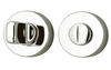 Privacy Turn and Release Type V - Satin Nickel Plate