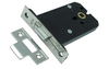 SDS Mortice Box Latch 101 mm Light Spring - Polished Brass Lacquered
