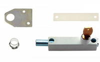 Screws, Nuts & Bolts  - Universal Door Bolt Cut Key - Electro Brass Plated