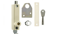 Screws, Nuts & Bolts|Fittings  - Universal Door Bolt Standard Key - White