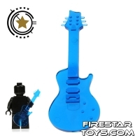 Amazing Armory - Transparent Blue Electric Guitar 1