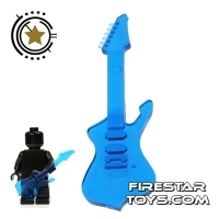 Amazing Armory - Transparent Blue Electric Guitar 3